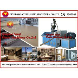 供应新型PVC塑料结皮发泡板材设备