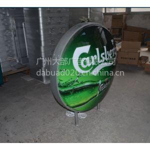 供应圆形吸塑灯箱广告灯箱厂家直销