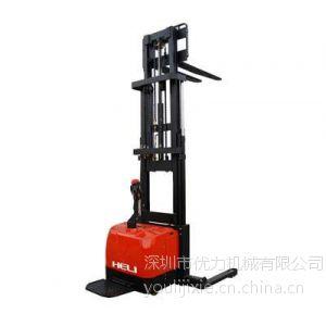 供应优力全电动堆高搬运叉车、深圳电瓶托盘叉车 堆垛叉车维修。