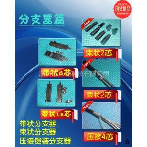 供应供应定制光纤光缆分支器3芯 4芯 6芯分支器