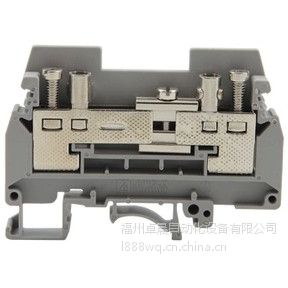 供应上海雷普JURTK/S-BU 6mm2 试验端子 蓝色雷普接线端子选型