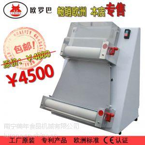 供应欧罗巴商用电动披萨饼机比萨设备比萨压面成形机器压饼机