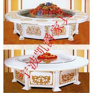 供应供应宁波酒店餐桌椅子,圆桌圆台折叠桌,豪华电动圆桌圆台