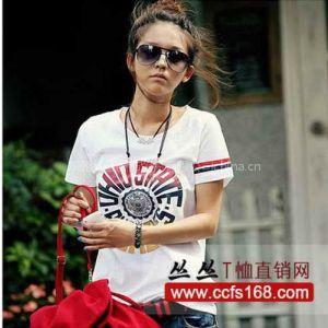 2011新款T恤批发 女式上装 时尚韩版风格