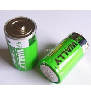 供应D型电池 热水器电池 1 号大号干电池