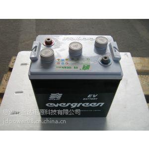 供应厂家批量供应8V电动观光浏览车电瓶电动车蓄电池