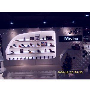 男鞋展柜 广州鞋业展柜 男鞋展示架 广州男鞋展柜制