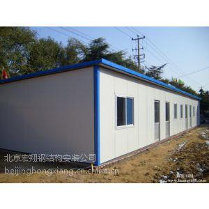 供应北京活动房制作公司 通州区岩棉板彩钢房安装搭建57117992