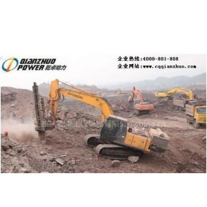 供应供应6-20吨挖掘机改装潜孔钻机