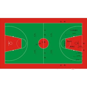 供应室外篮球场地网球场地塑胶地板悬浮式拼装地板专业铺设/天津室外篮球场地铺设工程专业承接
