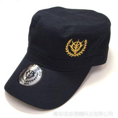 加工新款美军帽男女士金色刺绣棒球帽子男士韩版户外遮阳鸭舌帽