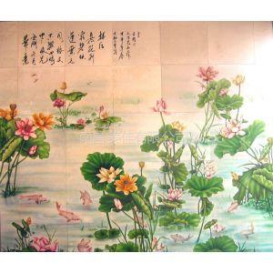 供应南昌 进贤 新建 安义陶瓷 瓷砖瓷板拼图壁画 墙画文化墙画彩色印刷定做!