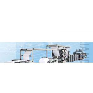 供应LD-1020S(双纸路)卷筒纸高速柔印铁丝骑马钉联动生产
