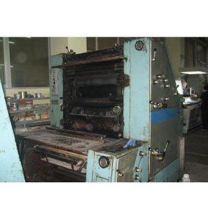 供应转让罗兰四开双色印刷机1978年冷水箱
