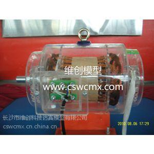 三相异步绕线式发电机模型 发电机模型 电机模型