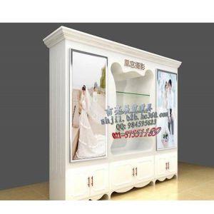 上海影楼展柜设计及制作 有专业的设计团队 娴熟的木工师傅