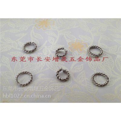 生产不锈钢饰品配件/花线开口/闭口圈 饰品圈