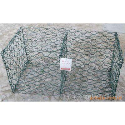 供应镀锌六角网 包塑石笼网 格宾网 安全网 河道加固铁丝网