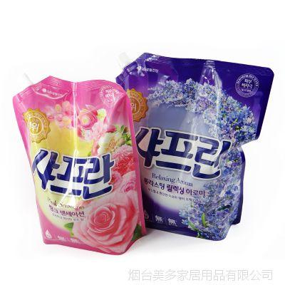 韩国进口正品 LG柔顺剂衣物柔软剂 现货大量批发 日用品批发