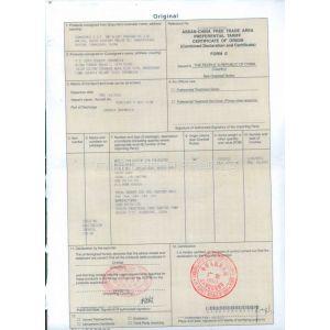 供应出口印尼办理FE第三方公司十三栏系统勾选框,签证日期和开船日期一致