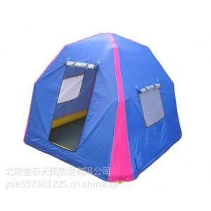 供应动房牌充气野营帐篷 野外露营充气帐篷单层帐