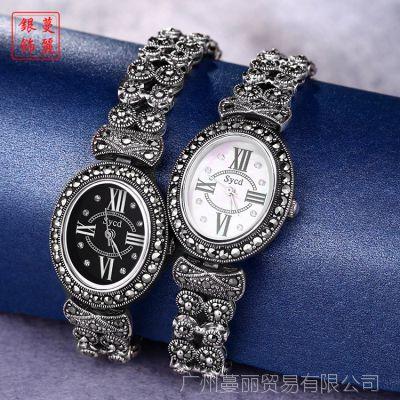 厂价直销 高档女士手表 进口机芯 泰银手表镶钻 石英腕表 A1157