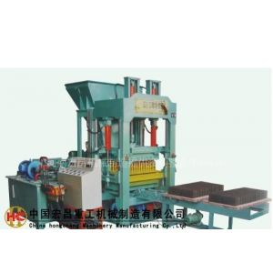 供应QT4-20免托板水泥砌块成型机(水泥砖机,免烧砖机)