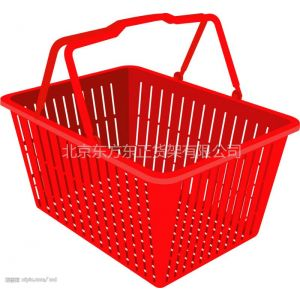 供应商场货架 超市货架 商超配套产品 购物篮批发 北京购物筐
