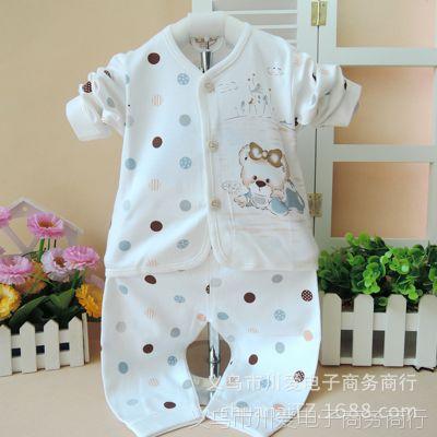 汤博士新款婴儿内衣套装 新生儿宝宝套 纯棉内衣批发
