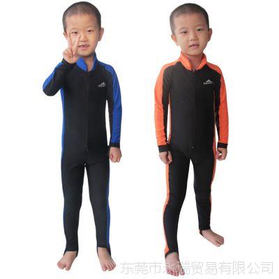 马尔代夫装备 儿童潜水服 男童/女童防晒衣 防晒服 水母衣 现货