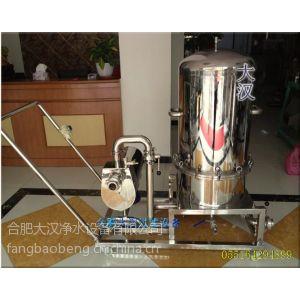 供应立式反冲硅藻土过滤机