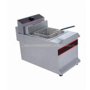 供应电热式单缸油炸锅12.5L