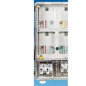 供应上下结构单相4位透明电表箱