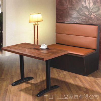 厂家直销南京[SP-KS139]经典软包式茶餐厅西餐厅咖啡厅成套家具