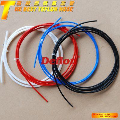 彩色绝缘套管聚四氟乙烯管 耐高温耐腐蚀电线套管