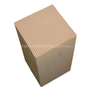 供应生物质气化炉专用蜂窝陶瓷填料25*25方孔