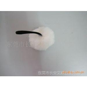 供应厂家订做 纯手工制作 各规格人造毛球 毛绒饰品 手机毛球挂件