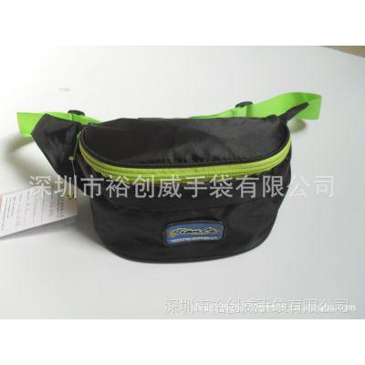 深圳龙岗手袋厂家直销 专业生产 新款 时尚 可折叠 腰包 折叠包