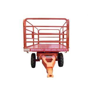 厂家供应中德重科高效周转质量保证平板拖车