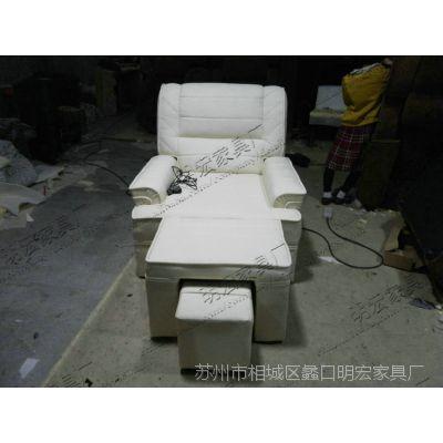 精品热销布艺电动沙发类 美甲电动足浴沙发 MH-ZYSF-15