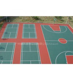 供应广州地区标准尺寸羽毛球场的建设及施工