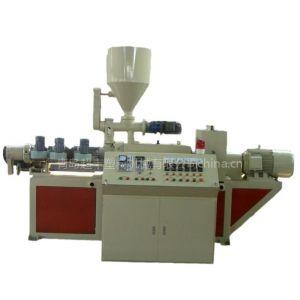 供应塑料异型材挤出机,青岛超丰PVC护角条机器生产线