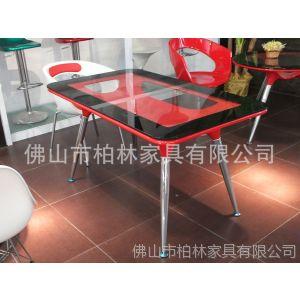 供应柏林餐桌/玻璃钢休闲台/长方台/