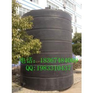 供应昆山防腐PE-40立方/40吨/40000L升塑料水箱 塑料水塔 塑胶水桶 大型装油储罐
