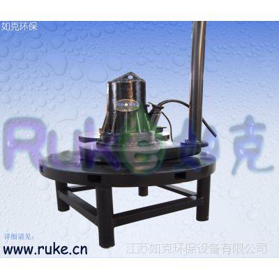 潜水曝气机 离心式潜水四周喷射曝气机