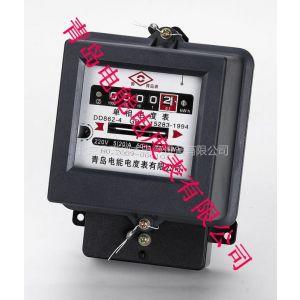 供应青岛电能电度表 单相机械式电能表 DD862 5(20)A