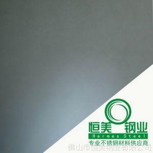 地磅430不锈钢材料供应 浅黑色彩色不锈钢镜面板加工 江门不锈钢
