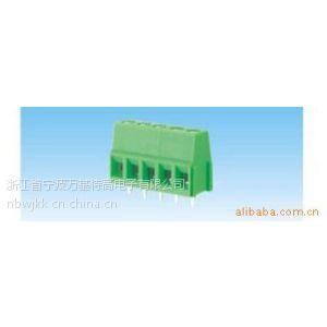 供应螺钉式PCB接线端子 接线柱 端子台 WJ128V-5.0mm 厂家直销