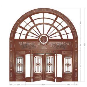 供应酒店旋转门 旋转门安装 北京旋转门材质