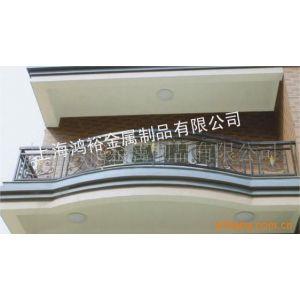 铁艺护栏供应上海别墅小区阳台豪华铁艺栏杆